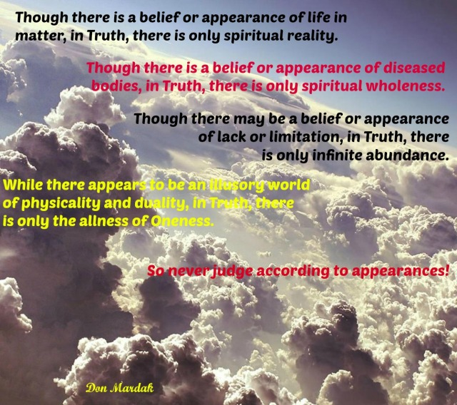 Though there is a belief or appearance of life in matter